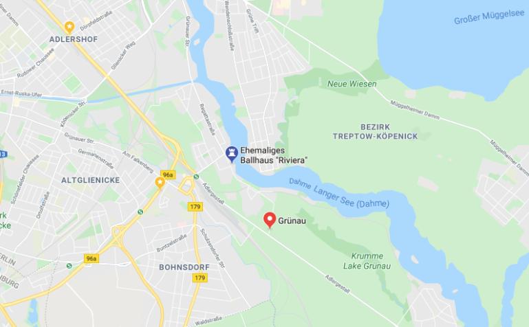 Ballhaus Riviera Google Maps