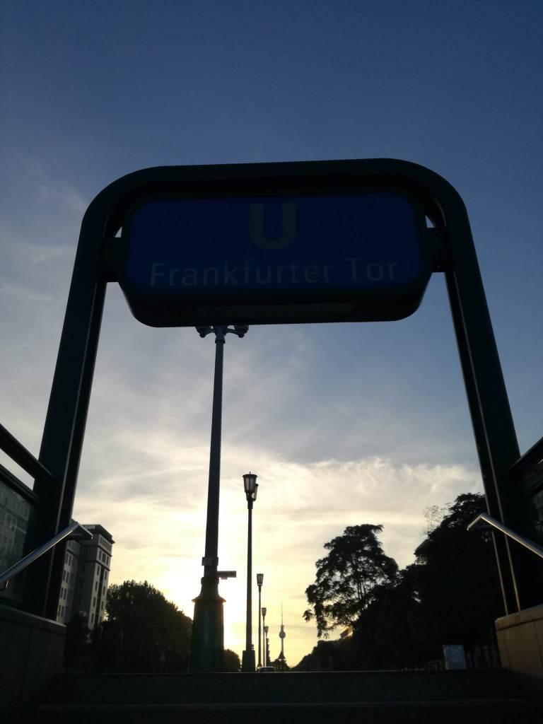 Foto: U-Bahnstation Frankfurter Tor